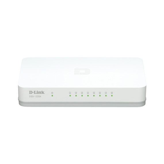 Switch 8P D-Link 1000 (DGS 1008A)