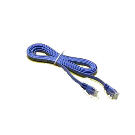 Cable UTP Vcom 5m Cat 6 flat