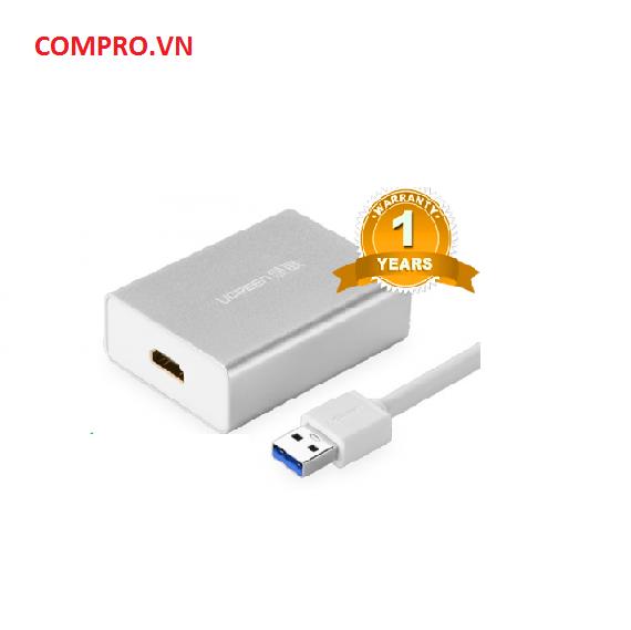 Cáp chuyển USB 3.0 toHDMI Cao Cấp Chính Hãng Ugreen UG 40229