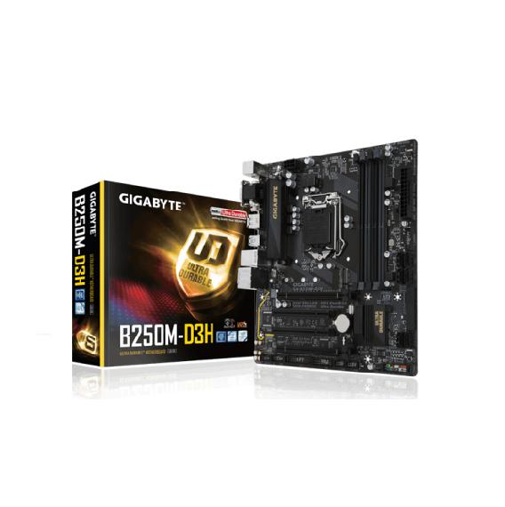 Bo mạch chính Motherboard Mainboard Gigabyte B250M-D3H LGA 1151