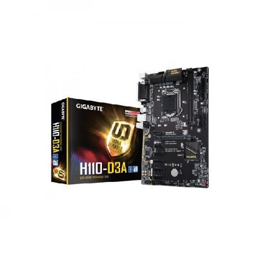 Bo mạch chủ Motherboard Mainboard Gigabyte H110-D3A LGA 1151