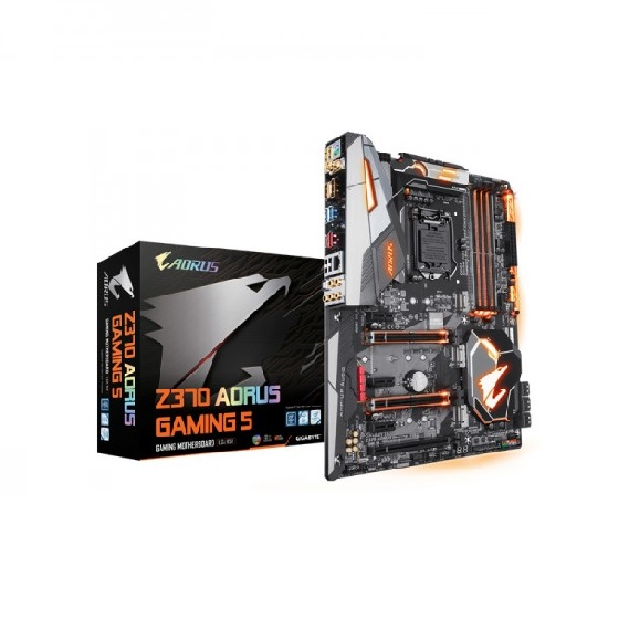 Bo mạch chủ MotherboardMainboard Gigabyte Z370 Aorus Gaming 5 LGA 1151-V2