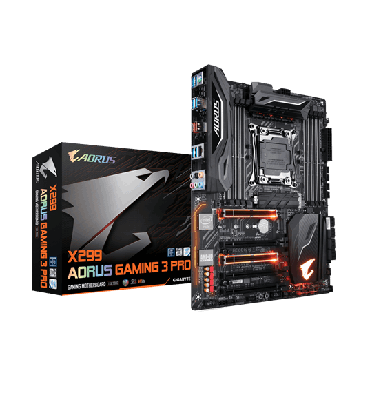 Bo Mạch Chủ Motherboard Mainboard Gigabyte X299 AORUS Gaming 3 Pro LGA 2066