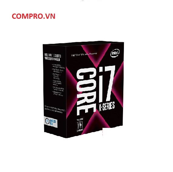Bộ vi xử lý CPU Intel Core i7 - 7740X 4.3 GHz Turbo 4.5 GHz / 8MB / 4 Cores, 8 Threads / socket 2066