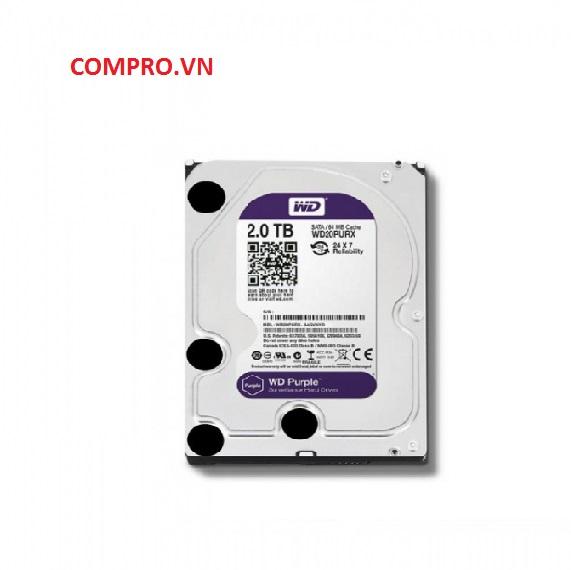 Ổ cứng Hardisk PC Desktop HDD WD 2TBWD20PURZ Tím
