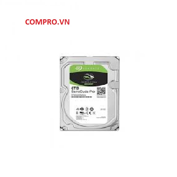 Ổ cứng Harddisk PC Desktop HDD Seagate 6TB Barracuda Pro Sata