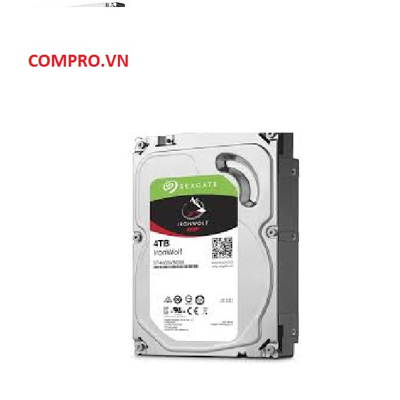 Ổ cứng NAS Seagate Ironwolf 4TB 3.5'' Sata 3 (ST4000VN008)