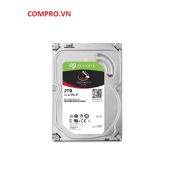 Ổ cứng Harddisk NAS Seagate Ironwolf 2TB 3.5'' Sata 3 (ST2000VN004)