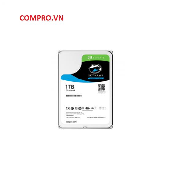 "Ổ CỨNG SEAGATE SKYHAWK 1TB 3.5"" ST1000VX005"