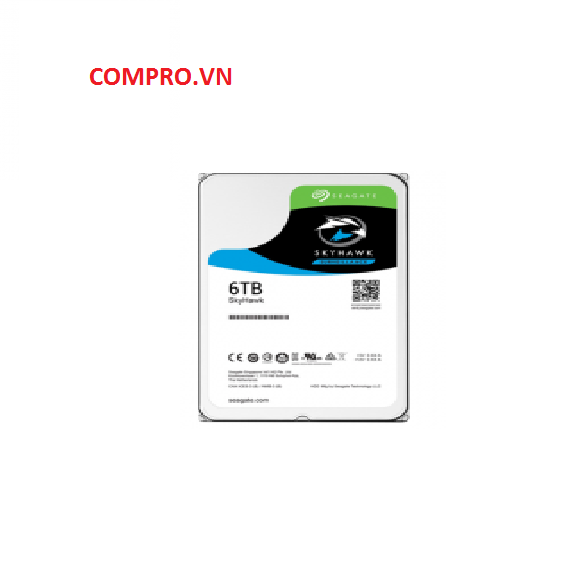 "Ổ cứng Seagate SKYHAWK 6TB 3.5"" ST6000VX0023"