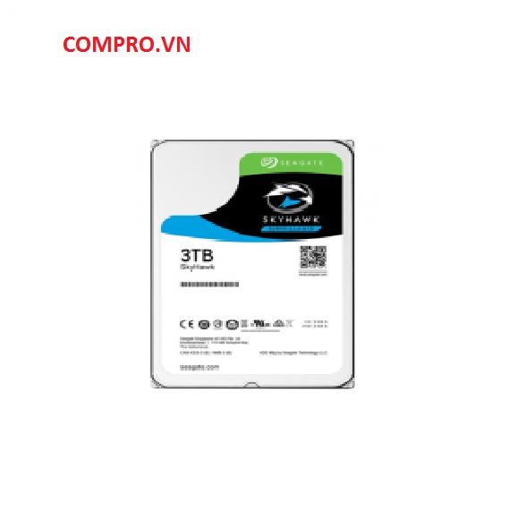 """Ổ cứng Harddisk HDD Seagate SKYHAWK 3TB 3.5"""" ST3000VX010"""