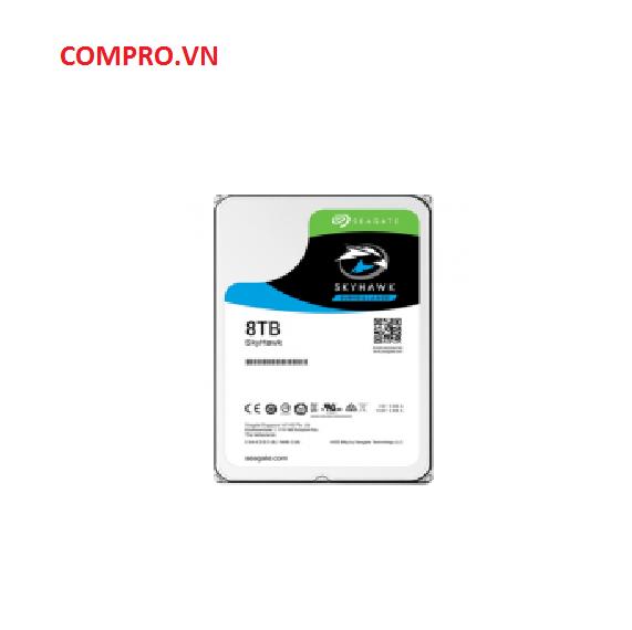 Ổ cứng Harddisk HDD Seagate 8TB Skyhawk Sata