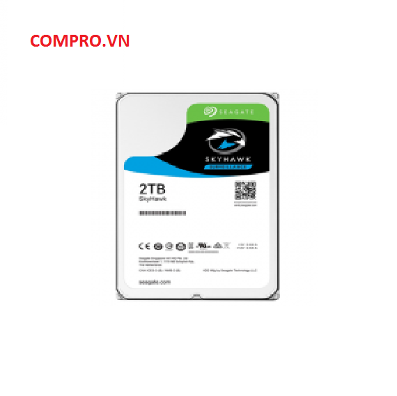 Ổ cứng Harddisk HDD Seagate 2TB Skyhawk Sata