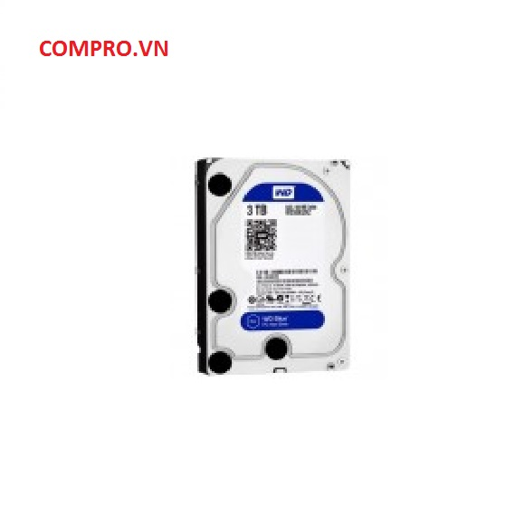 Ổ cứng Harddisk PC Desktop HDD WD 3TB WD30EZRZ Sata 3