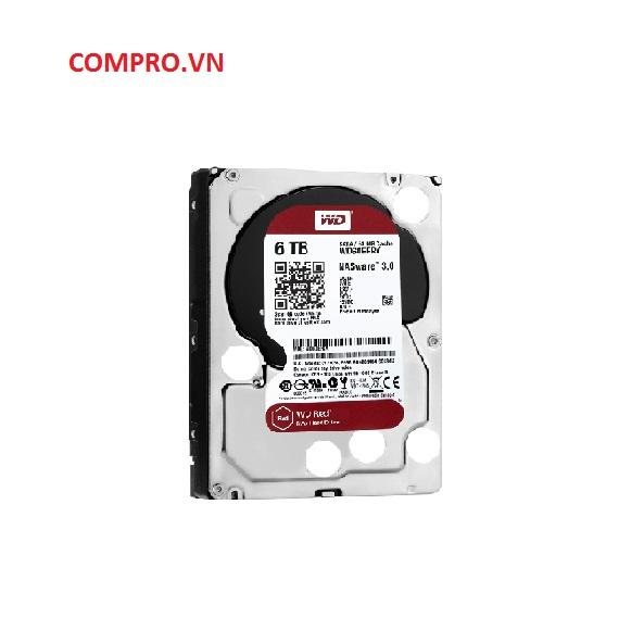 Ổ cứng Harddisk PC Desktop HDD WD 6TB WD60EFRX Sata 3