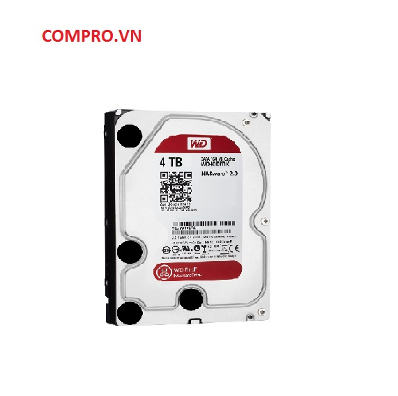 Ổ cứng Harddisk NAS HDD WD 4TB WD40EFRX Sata 3