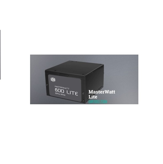 Nguồn Máy Tính Để Bàn Power supply Cooler Master CM Masterwatt Lite 600W