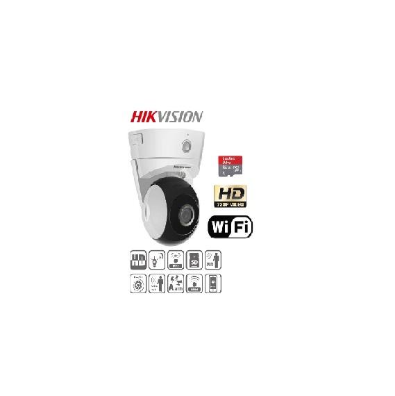 Camera IP Dome Pal/Tilt Wifi hồng ngoại 1 MP HIKVISION DS-2CD2Q10FD-IW ( quay quét ), chuẩn nén H.264