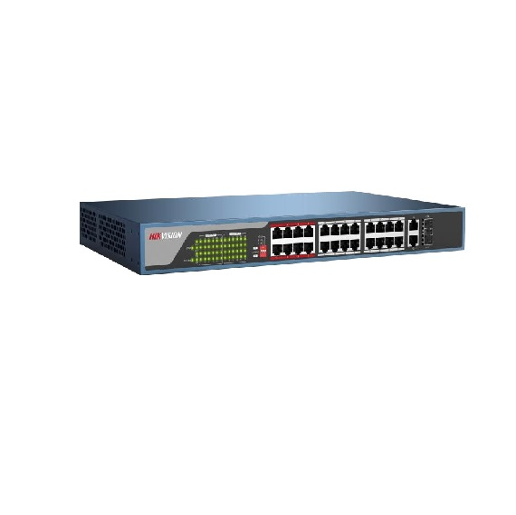 Switch HIKVISION 24-port 10/100MbpsUnmanagedPoE DS-3E0326P-E