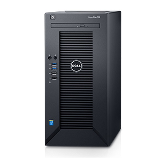 Máy chủ Server Dell PowerEdge T30 (E3-1225v5/8GB/1TB)