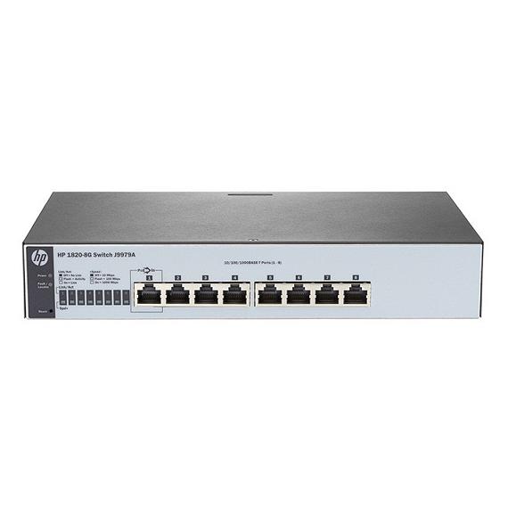 Thiết bị mạng Switch HP 8P 1820 8G J9979A