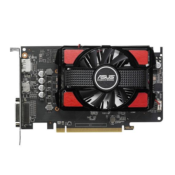 Card màn hình Asus 4GB RX550-4G