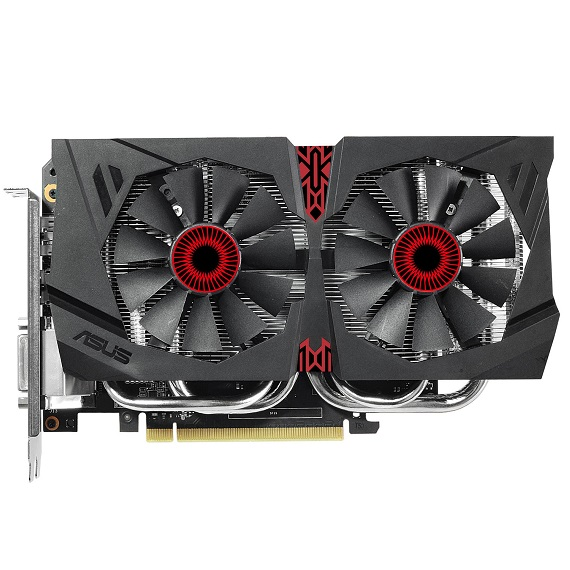 Card màn hình Asus 6GB Strix GTX1060-DC2O6G