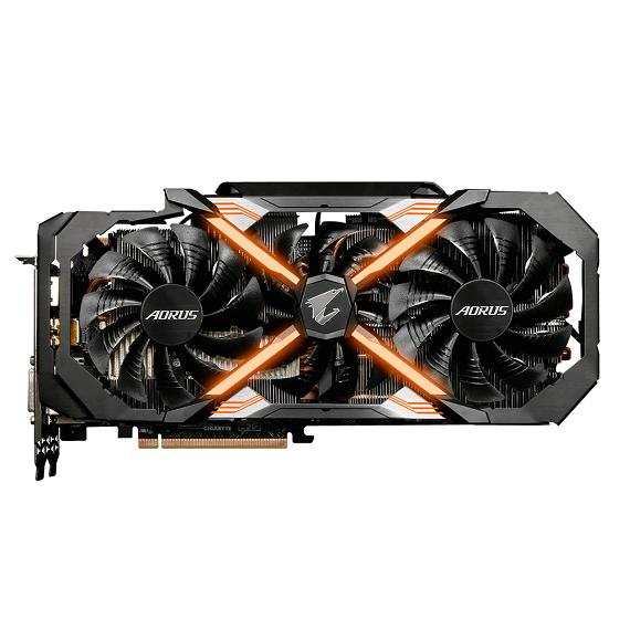 Card màn hình Gigabyte AORUS GeForce GTX 1080 Ti 11GB N108TAORUS-11GD