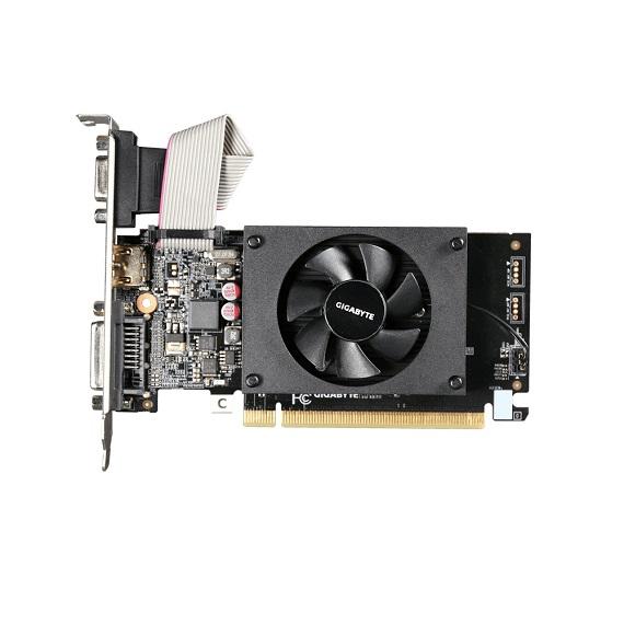 Card màn hình Gigabyte NVIDIA GeForce 1GB GT710-N710D3-1GL