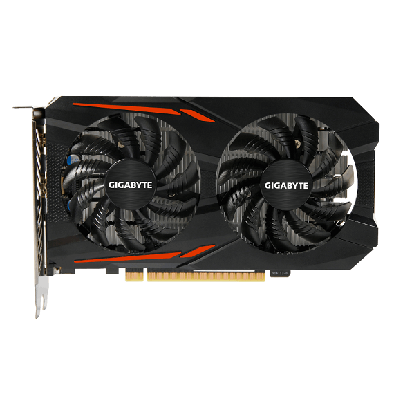 Card màn hình Gigabyte GeForce GTX 1050 Ti 4GB N105TOC-4GD