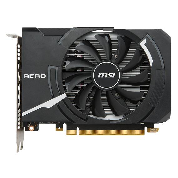 Card màn hình Msi GeForce GTX 1050 Ti 4GB GTX1050Ti AERO ITX 4G OCV1