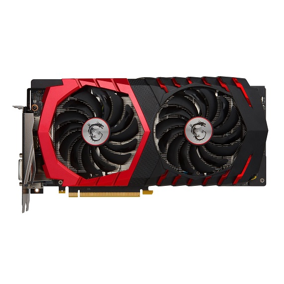 Card màn hình Msi GeForce GTX 1060 6GB GTX1060 Gaming X 6G