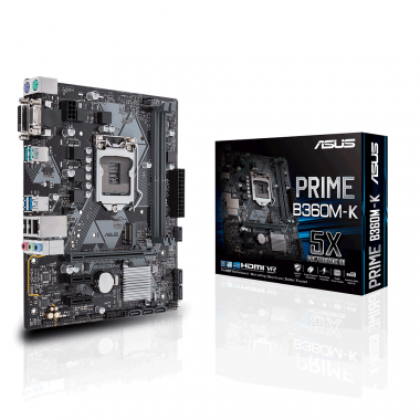 Bo mạch chủ Motherboard Mainboard Asus Prime B360M-K