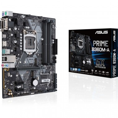 Bo mạch chủ Motherboard Mainboard Asus Prime B360M-A