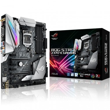 Bo mạch chủ Motherboard  Mainboard Asus Rog Strix Z370-E Gaming