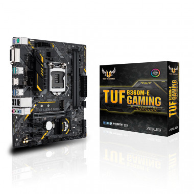 Bo mạch chủ Motherboard  Mainboard Asus TUF B360M-E Gaming