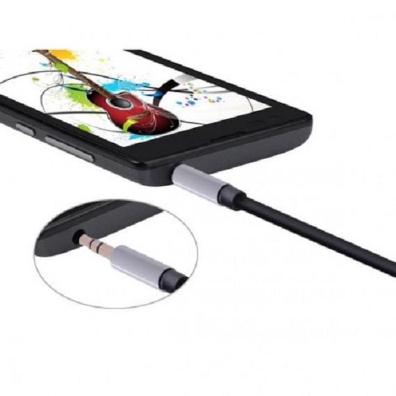 Cáp Audio 3.5mm dây tròn 1M Chính hãng Ugreen UG-10733 mạ vàng 24K