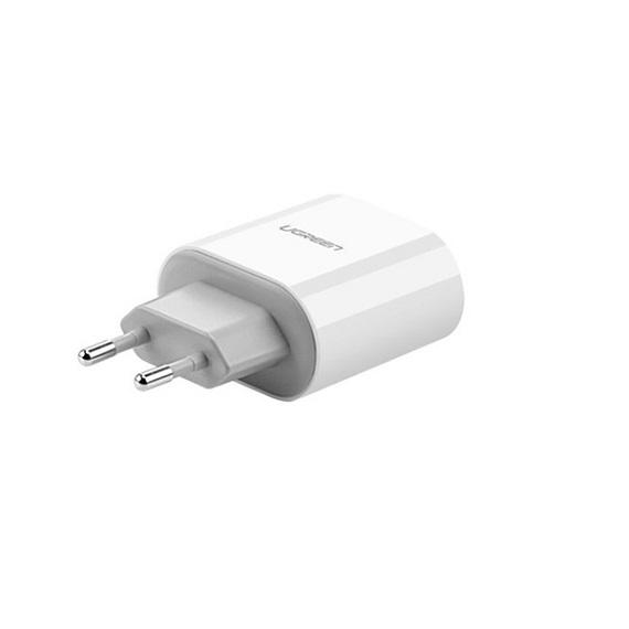 Củ sạc di động 2 cổng USB (17W/5V 3.4A) Ugreen 20384