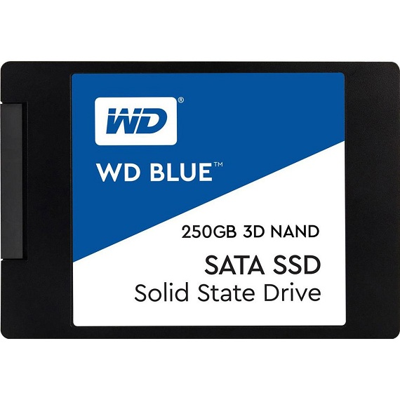 Ổ cứng SSD Wester Digital WD Blue 3D NAND 250GB WDS250G2B0A SATA III 2.5 inch