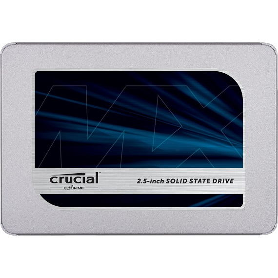 Ổ cứng SSD Crucial MX500 3D NAND 250GB SATA III 2.5 inch