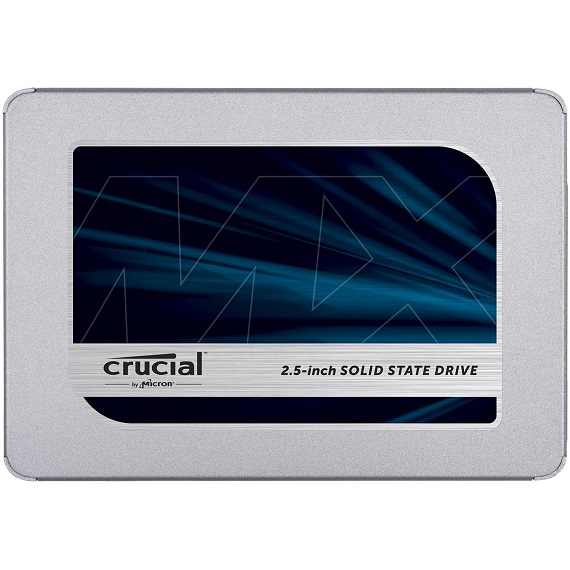 Ổ cứng SSD Crucial MX500 3D NAND 500GB SATA III 2.5 inch