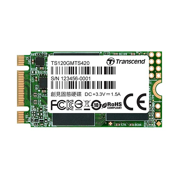 Ổ cứng SSD Transcend 120GB MTS420 3D-NAND (M.2 2242) M.2 SATA III
