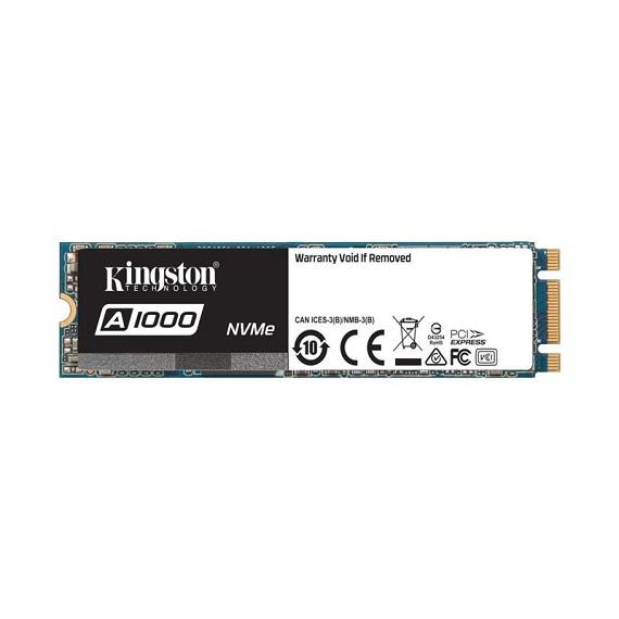 Ổ cứng SSD Kingston A1000 480GB SA1000M8/480G (M.2 2280) M.2 PCIe NVMe Gen3 x2