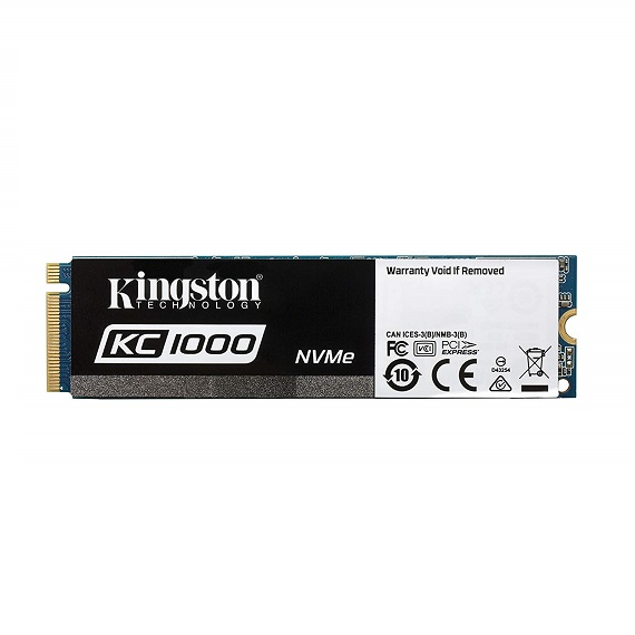Ổ cứng SSD Kingston KC1000 240GB SKC1000/240G (M.2 2280) M.2 PCIe NVMe Gen3 x4