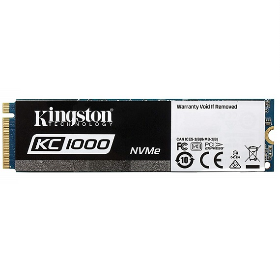 Ổ cứng SSD Kingston KC1000 NVMe 960GB SKC1000/960G (M.2 2280) M.2 PCIe Gen3 x4