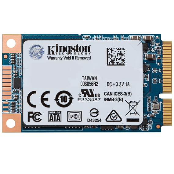 Ổ cứng SSD Kingston UV500 3D-NAND 120GB SUV500MS/120G mSATA SATA III