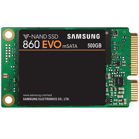 Ổ cứng SSD Samsung 860 Evo 500GB MZ-M6E500BW mSATA SATA III