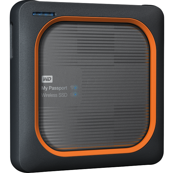 Ổ cứng di động SSD 1TB Western Digital My Passport Wireless WDBAMJ0010BGY usb 3.0