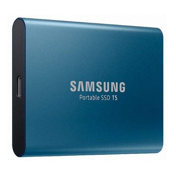 Ổ cứng di động 500GB External SSD Samsung T5 USB 3.1 Gen 2 MU-PA500B/WW