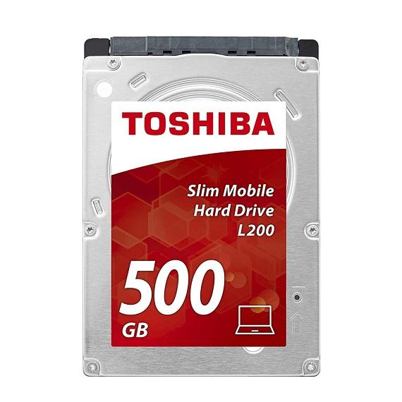 Ổ cứng Notebook HDD Toshiba L200 500GB 5400rpm (HDWK105UZSVA) 2.5 inch SATA III